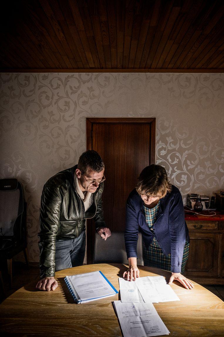 Diederik en Nathalie Palsterman. Beeld Diego Franssens