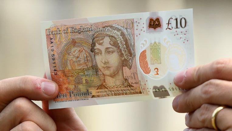 Het bankbiljet van 10 pond komt vanaf september in omloop. Beeld photo_news