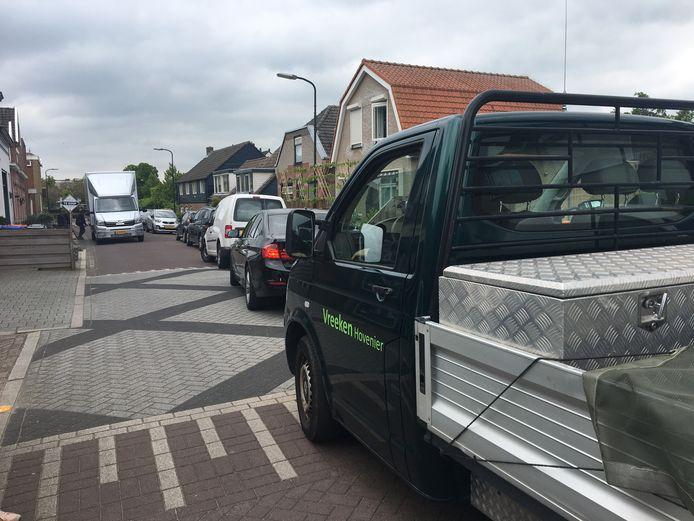 De Peulenstraat-Zuid moet de nieuwe wijk IJzergieterij in Hardinxveld-Giessendam ontsluiten.