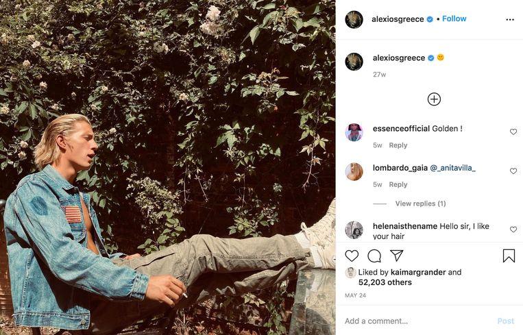 Prins Constantijn Alexios van Griekenland. Beeld Instagram