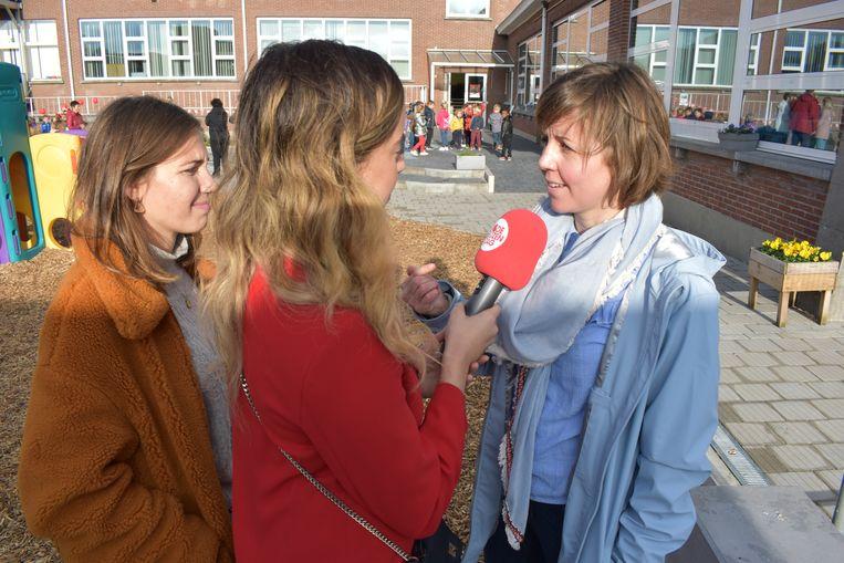 Schepen Lieselotte De Roover geeft duiding bij het engagement van de stad.