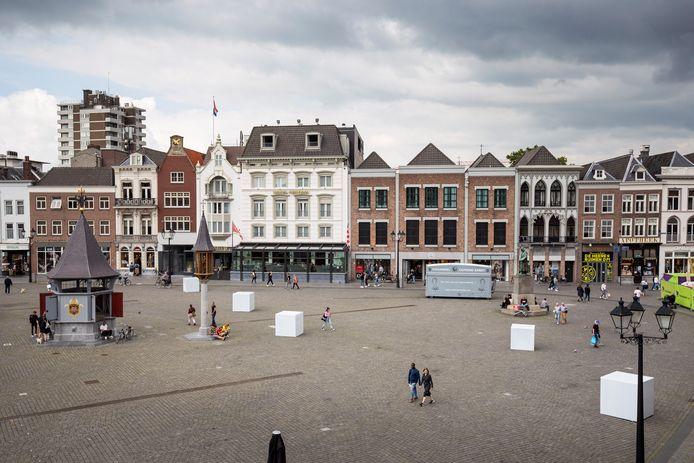 Kunst op de Bossche Markt.