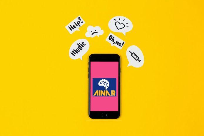 De Ainar-app helpt je af van je angst voor naalden.