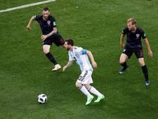 LIVE: Heerlijke pegel Modric nieuwe dreun voor Argentinië