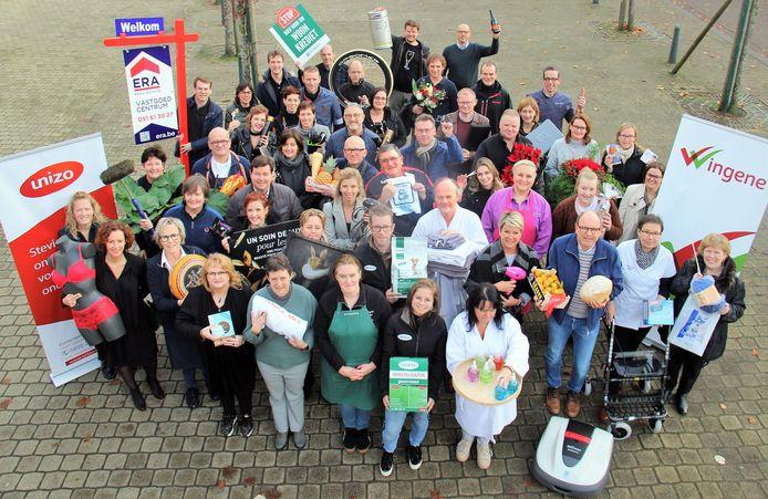 Unizo en de gemeente Wingene organiseren een eindejaarsactie.
