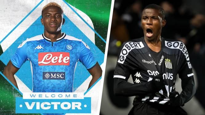 Hoe Napoli-spits Victor Osimhen, de man van 70 miljoen, 'neen' zei tegen Anderlecht en doorgestuurd werd door Club Brugge en Essevee