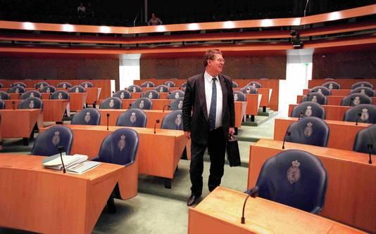 Wim Mateman op zijn laatste dag als lid van de Tweede Kamer.