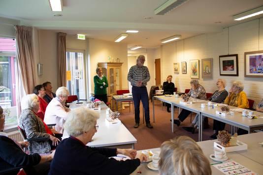 De workshop  'Goed Voorbereid (op noodsituaties)' voor ouderen in Hattem.
