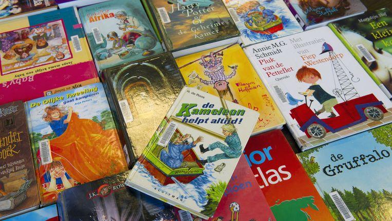 Kinderboeken in de bibliotheek. Beeld ANP