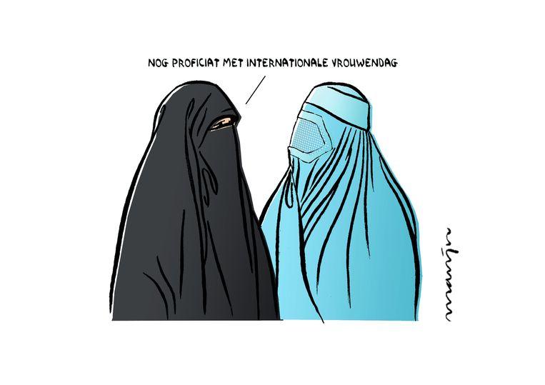Ook een eervolle vermelding voor Internationale vrouwendag, 9 maart 2019 in Eindhovens Dagblad. Beeld Marijn