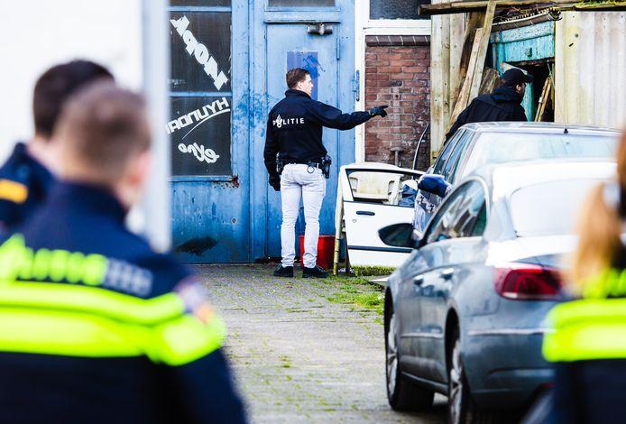 Inval garagebedrijf Ooststraat Oud-Beijerland.