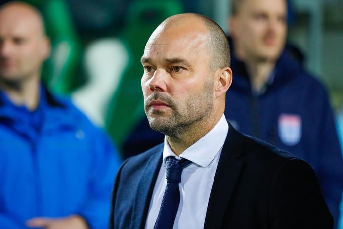PEC Zwolle technical manager Gerard Nijkamp during the Dutch Eredivisie match between PEC Zwolle and De Graafschap Doetinchem
