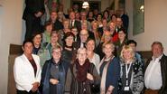 65-jarigen vieren samen feest