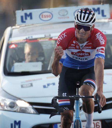Zelfs met gebroken stuur is Van der Poel goud waard: ploegmaat wint GP Le Samyn