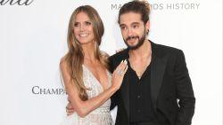 Heidi Klum vrijt erop los in Cannes