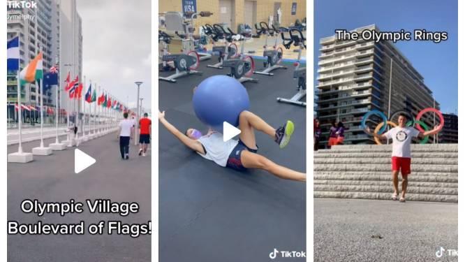 Dankzij TikTok kan je voor de eerste keer ooit een kijkje achter de schermen nemen bij de Olympische Spelen
