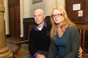 Danny Vervecken en Betty Vervynck, de ouders van Priscilla, tijdens het assisenproces.