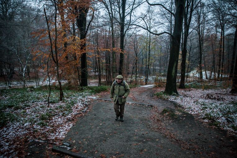 Ivan Van de Cloot op zoek naar Snep. Beeld Pieterjan Luyten
