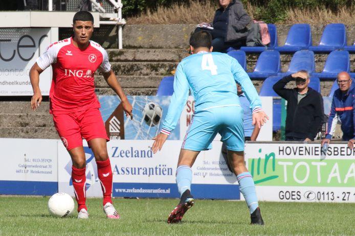 Souffiane el Ouazzani speelt ook komend seizoen voor Goes.