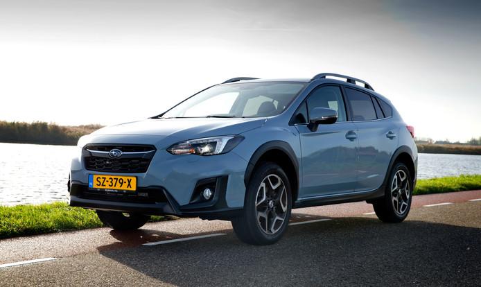 De Subaru XV rijdt comfortabel en biedt veel ruimte.