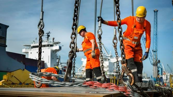 Antwerpse haven in overdrive nu economie aantrekt: té volle containerkades en nood aan nieuw bloed bij dokwerkers