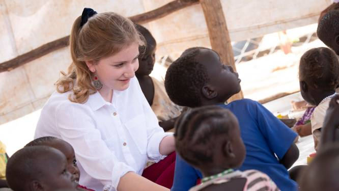 Prinses Elisabeth praat voor het eerst met pers na bezoek aan Kenia