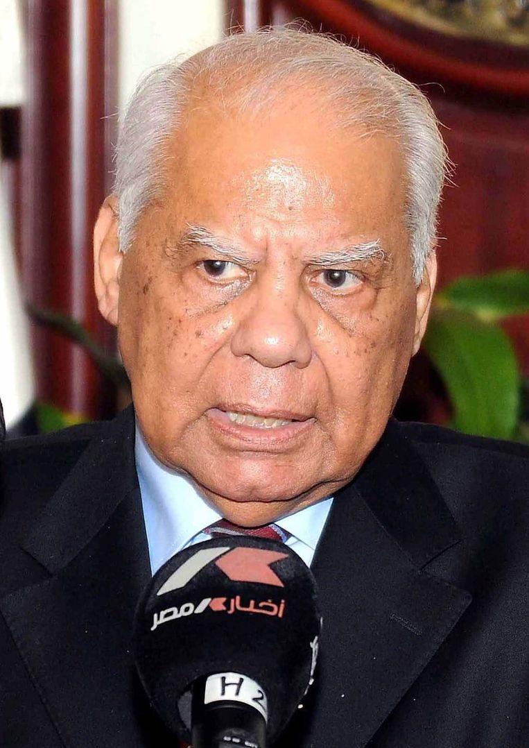 Hazem El-Beblawi. Beeld EPA