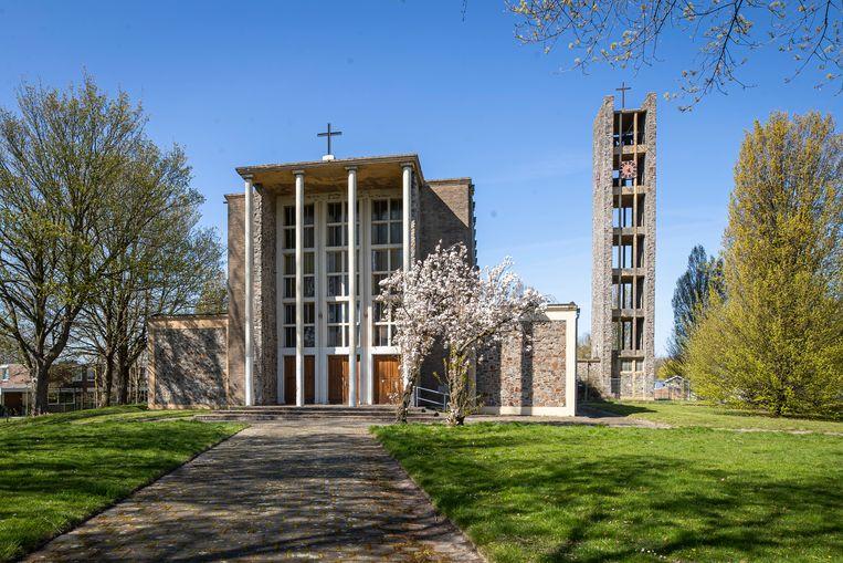 De Michaëlkerk trok in de jaren zestig landelijk de aandacht. Beeld Laurens Eggen