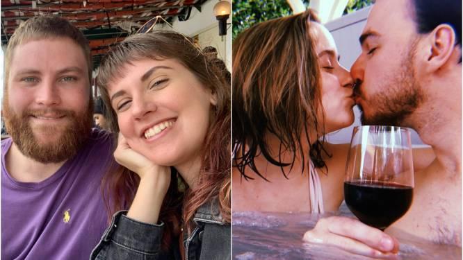 """Langeafstandskoppels nog altijd gedwarsboomd door corona. Nane (25) en Hedy (25): """"Belgen mochten op reis, ik mocht mijn verloofde nog altijd niet zien"""""""