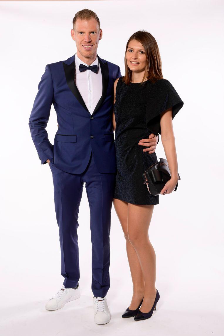 Tim Declercq en vriendin Tracey Debruyne.