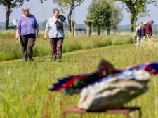 Wandelaar getrakteerd op kunst langs Klompenpad in Wageningen: 'Dit is dubbel genieten'