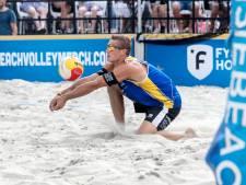 Eerste World Tour-medaille voor Almelose beachvolleyballer Nijeboer