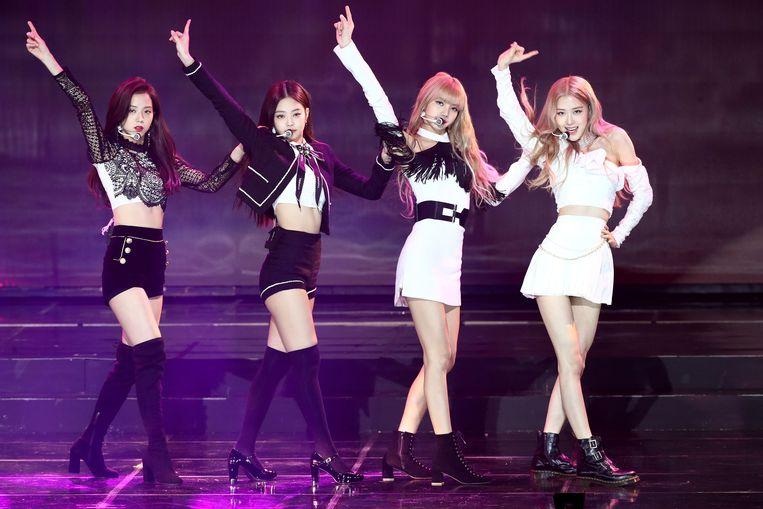 K-popgroep Blackpink was de eerste die binnen een dag de grens van 80 miljoen views op YouTube wist te doorbreken. Beeld Getty Images