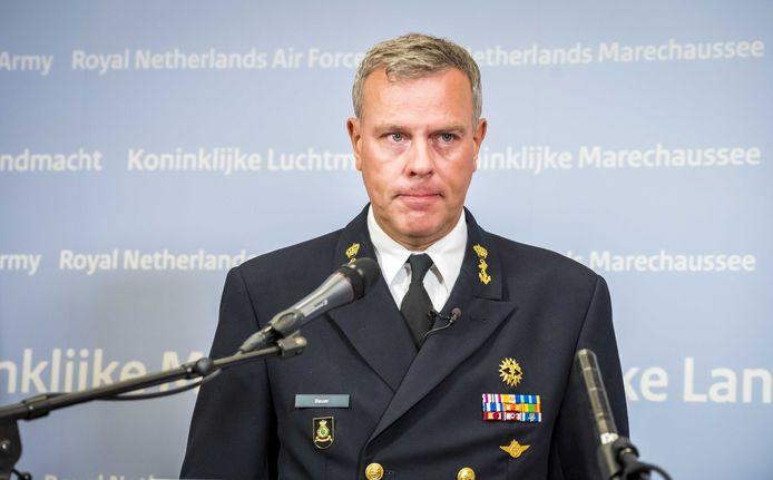 Luitenant-admiraal Rob Bauer Commandant der Strijdkrachten noemde op een persconferentie het verlies van twee bemanningsleden een 'heftige schok voor iedereen.'