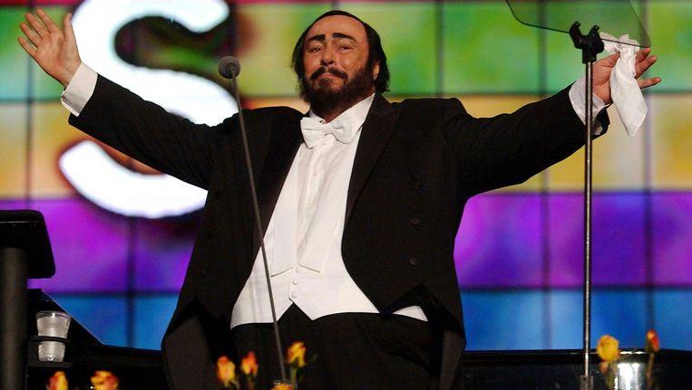 Luciano Pavarotti (1935-2007). Beeld AP