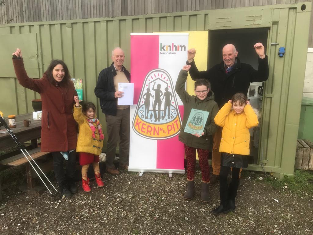 De Ecologische Samentuin Vrijhoeve, winnaar van de Kern met Pit Trofee van de provincie Noord-Brabant.