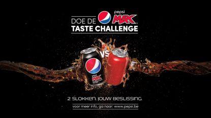 Doe de Pepsi Max Taste Challenge
