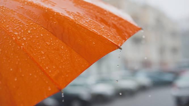 Regenachtige en winderige dag, ook morgen regen