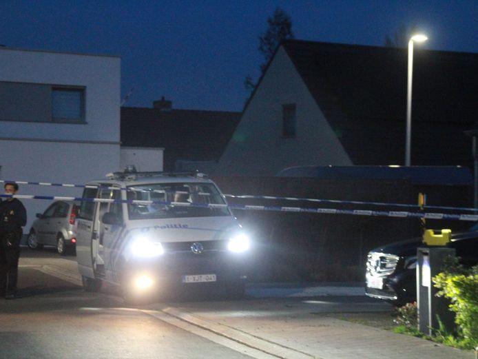 Het Groene Herdersgoed werd zondagavond afgesloten voor alle verkeer zodat politie en parket kunnen nagaan wat er zich precies afspeelde.