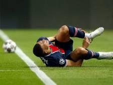 Domper voor PSG: geblesseerde Mbappé kan niet starten
