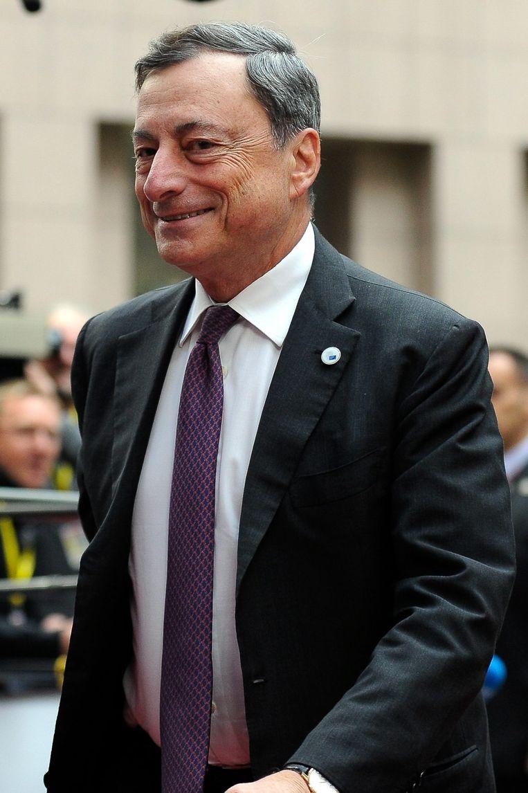 ECB-topman Mario Draghi. Beeld EPA