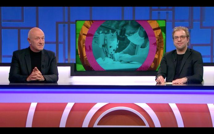 In de uitzending van 'De Ideale Wereld' van 30 april was Geert Hoste te gast.