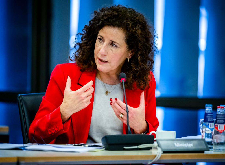 Minister Ingrid van Engelshoven (Onderwijs).