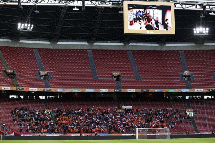 Le 27 mars dernier, 5.000 personnes avaient pu assister à la rencontre de qualification pour le Mondial 2022 entre les Pays-Bas et la Lettonie à Amsterdam