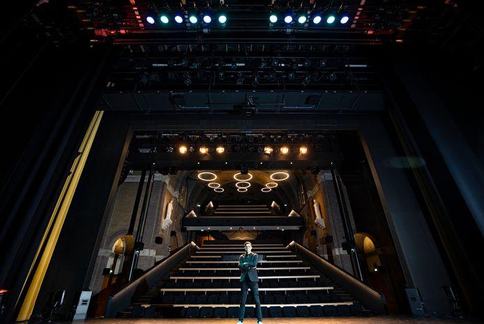 Jochem Otten in theater Speelhuis