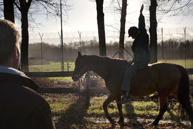 Paardentherapie in Balkbrug,  2017. Beeld Marcel van den Bergh