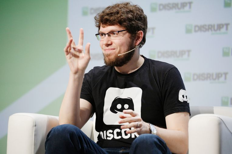 Jason Citron, medeoprichter en CEO van Discord, zit in een comfortabele onderhandelingspositie. Beeld Getty Images for TechCrunch