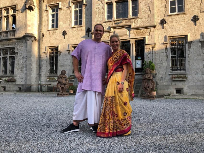 Frans en Mariska Bauer voor hun nieuwe programma