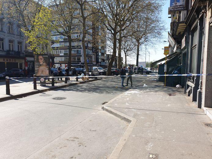 Le Boulevard Paul Janson à Charleroi a été le théâtre d'un crime