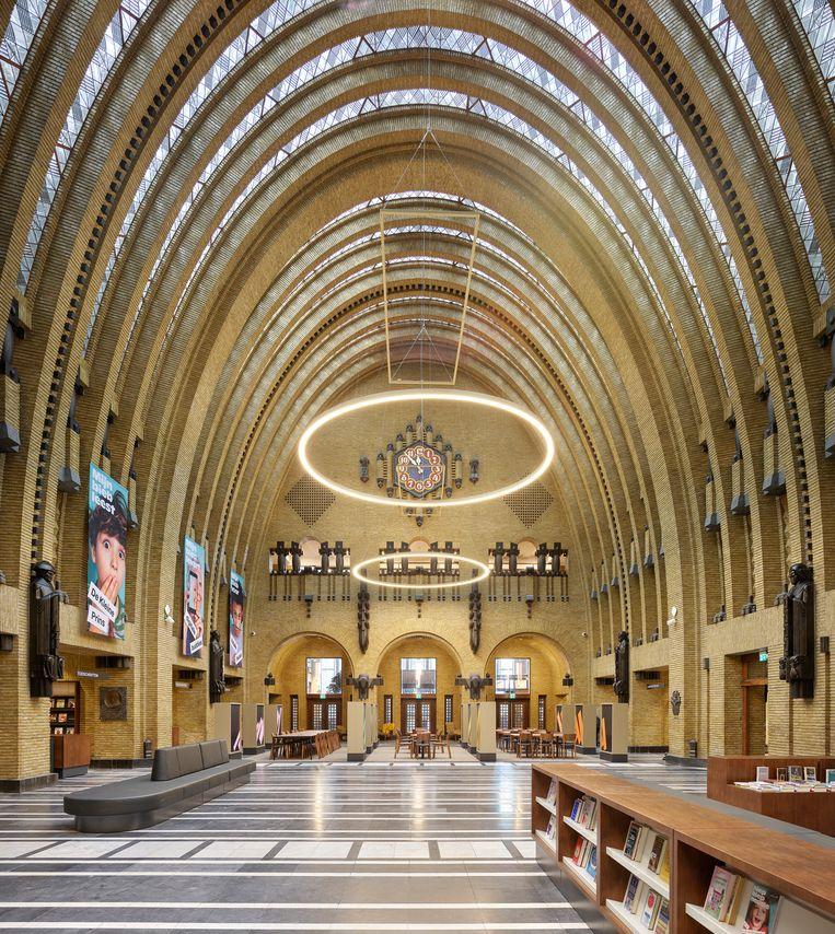 Bibliotheek Neude, Utrecht. Renovatie interieur door Zecc Architecten. Beeld Kees Hummel